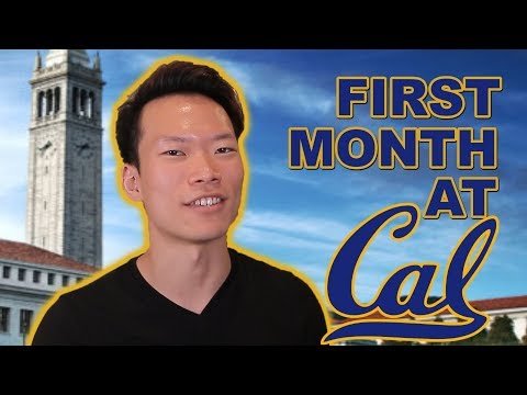 FIRST MONTH @UC BERKELEY!!!