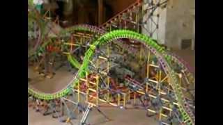 -Hydra- the revenge -K'nex rollercoaster recreation-