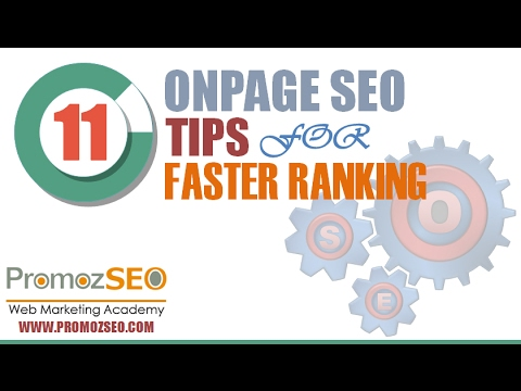 On Page SEO Techniques - PromozSEO
