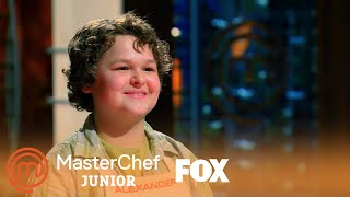 The Top 2: Alexander Is Introduced | Season 1 Ep. 7 | MASTERCHEF JUNIOR