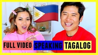 FULL VIDEO SPEAKING IN TAGALOG! My Boy Friend Does My Makeup