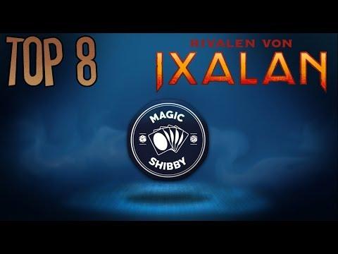 Magic: The Gathering - Top 8 Rivalen von Ixalan Karten [Deutsch]