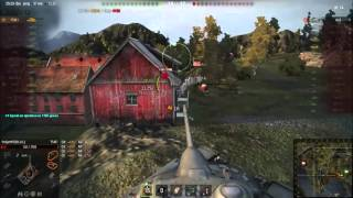 World of Tanks T54E1   11 Kills   5,3K Damage Map Fjords WoT Ace tanker