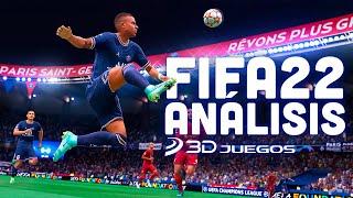 FIFA 22 ANÁLISIS 4K: EA Sports PROMETÍA REVOLUCIÓN y MEJORAS, ¿cumplen? VIDEOREVIEW