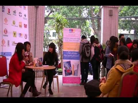 Giao lưu với Minh Mẫn, Đinh Huy, Quỳnh Thy tại Hội sách Xuân 2014 - Thư viện HN