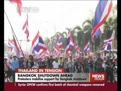 Thailand protesters mobilise support for Bangkok shutdown