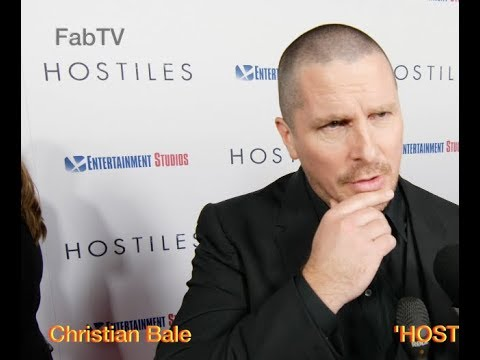 Christian Bale at the 'HOSTILES' premiere on FabTV
