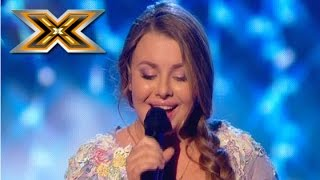 Young girl sings an Adele «Set Fire To The Rain». The X Factor - TOP 100