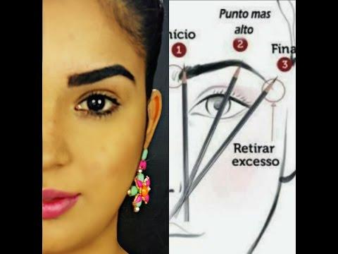 COMO DEPILAR LA CEJAS PASO A PASO / PERFECT EYEBROW como depilar, perfilar, cortar y definir
