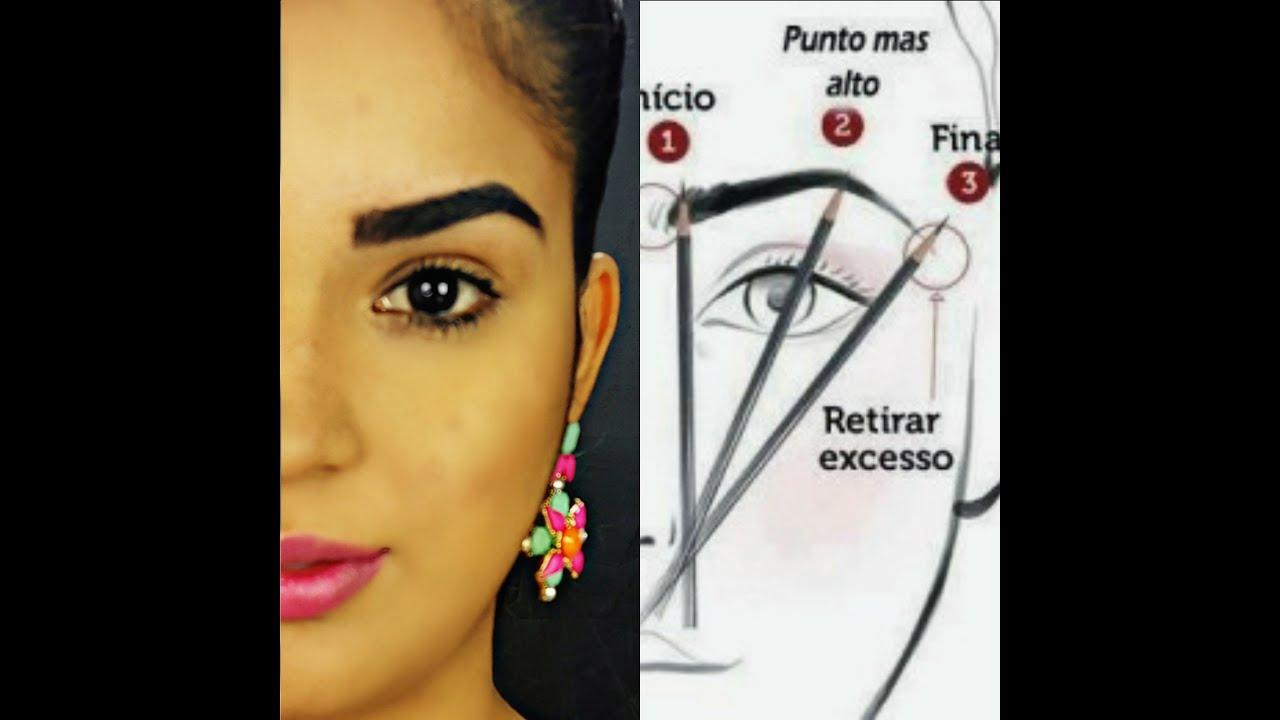 Como depilar la cejas paso a paso perfect eyebrow como depilar perfilar cortar y definir - Como quitar las humedades de la pared ...