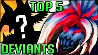 Top 5 Best Deviant Monsters in Monster Hunter! (Generations Ultimate Hardest Monsters) #mhgu