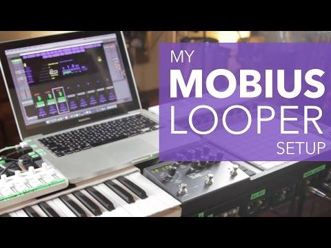 My Mobius Looper Set Up.