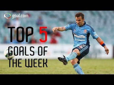 Top 5 Goals Del Piero, Marco Rojas A-League