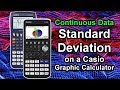 CASIO Graphic Display Calculator -Probability distribution ...