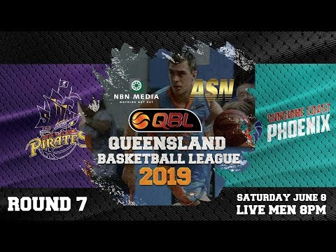 #QBL19 Round 7 - Pirates vs Phoenix (Men)