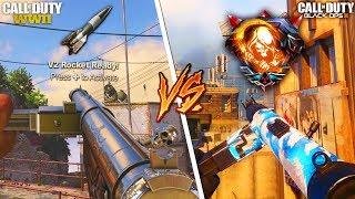 STEN vs STEN... DLC WEAPON SHOWDOWN 😱 (COD WW2 VS. BLACK OPS 3)