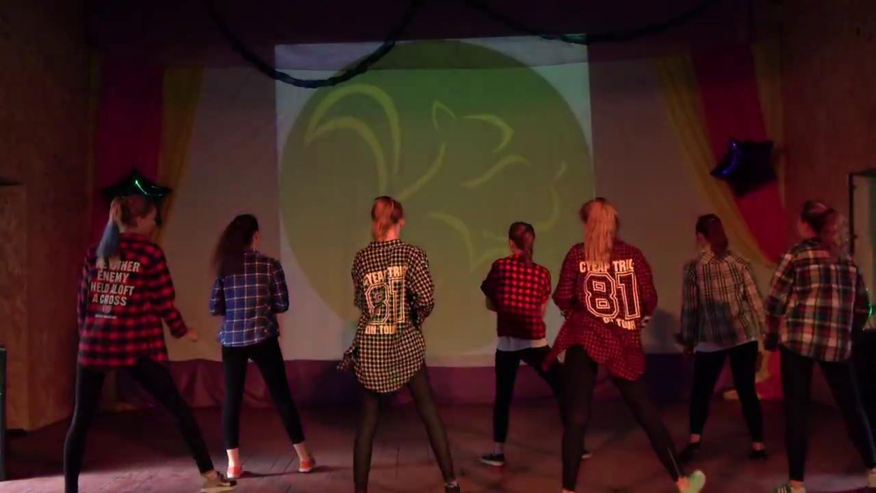 Ролики танцы киберфриков
