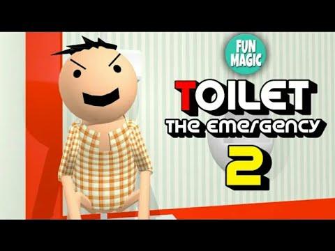 A JOKE OF : TOILET : THE EMERGENCY PART 2 - FUN MAGIC