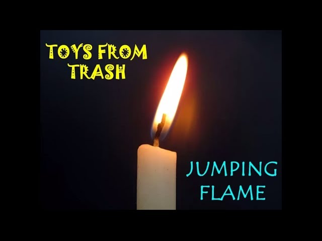 Jumping Flame   Kannada   Fun with Candles - YouTube