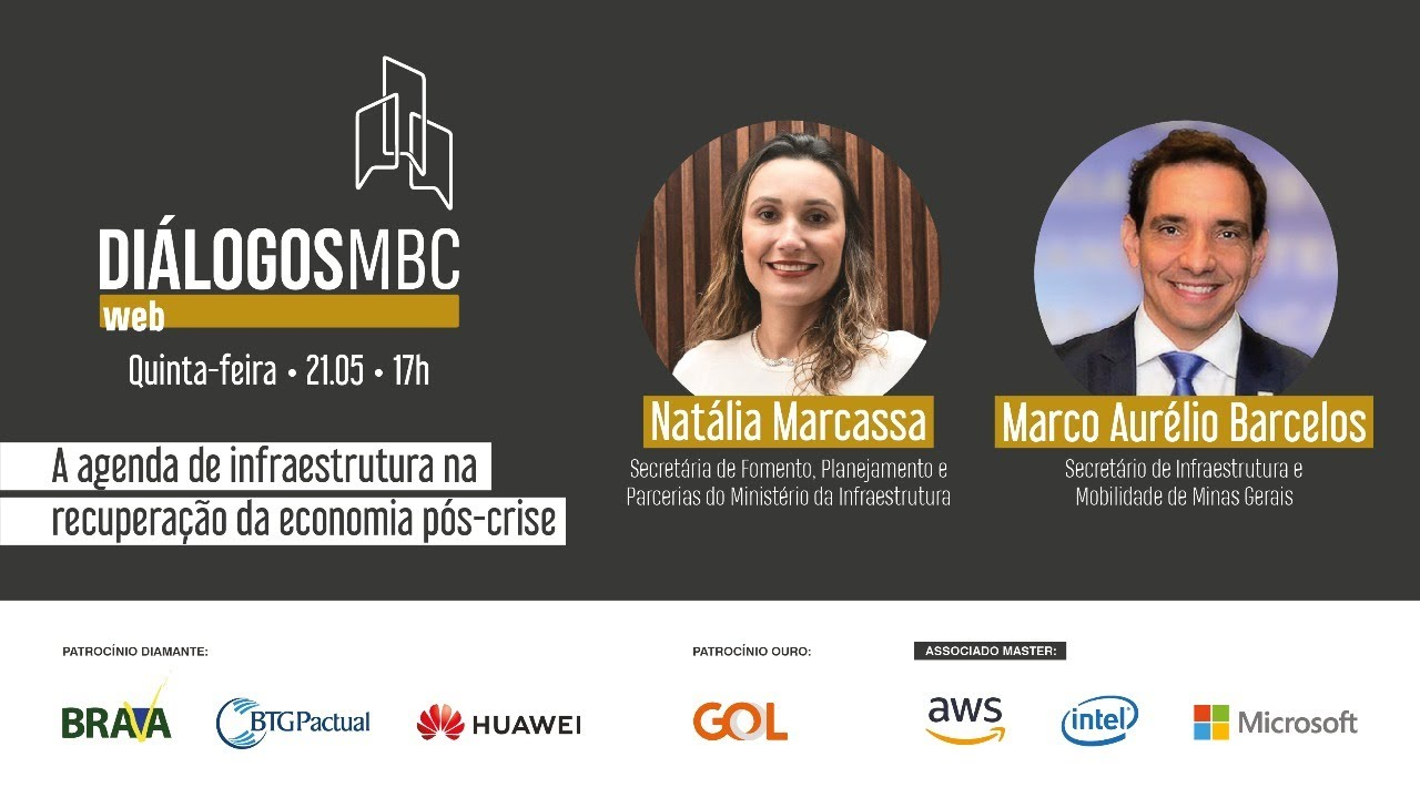 Diálogos MBC Web com Natália Marcassa e Marco Aurélio Barcelos