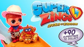 Super Zings 4 seria ⚡ Prezenty od Enigmy ⚡ LOL Surprise ⚡ Choco Battle ⚡ bajka po polsku