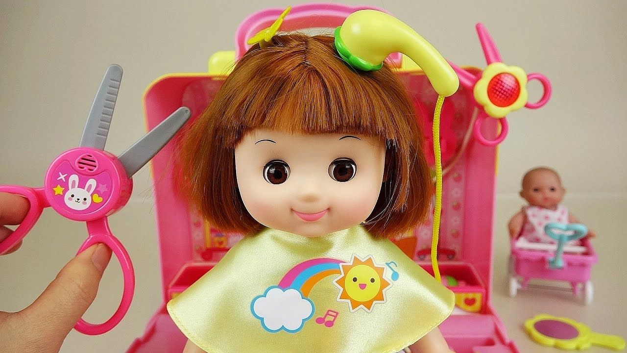 Toys For Hair : Baby doll hair shop play set toys doovi