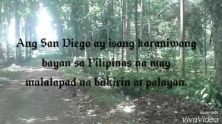bagtican noli me tangere kabanata 10 bayan ng san diego part 1
