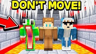 TRY NOT TO JUMP CHALLENGE IN MINECRAFT! *DANGEROUS*