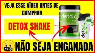 Como Emagrecer Rapido e Facil? Detox Shake Antes e Depois - (ORIGINAL)