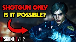 Can You Beat Resident Evil 2 With Only Leon's Shotgun?