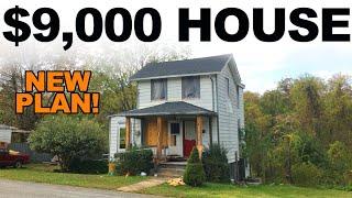 $9,000 HOUSE - MY MASTER PLAN REVEALED - Ep. 30