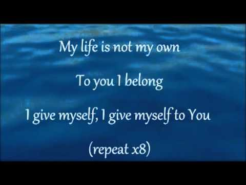 I give myself away and Here I am to worship w/ lyrics - William ...