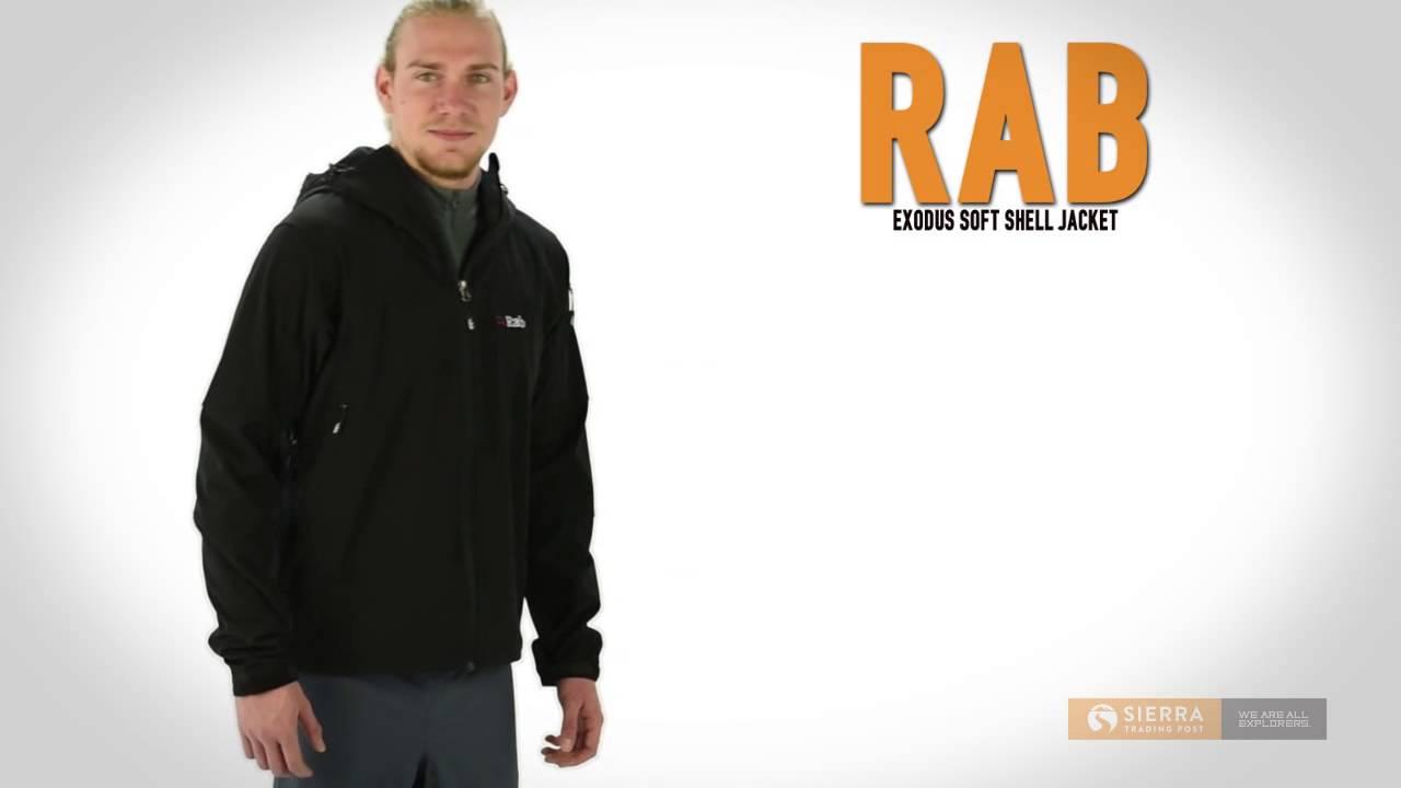 Men's exodus jacket - Rab Exodus Soft Shell Jacket For Men