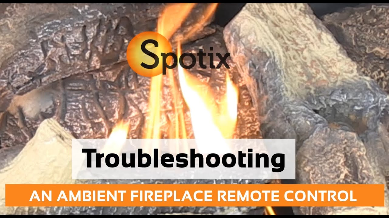 troubleshooting an ambient fireplace remote control youtube