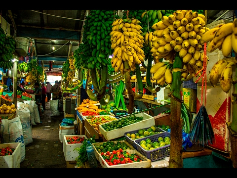 Male-Maldives Fruit&Fish Market