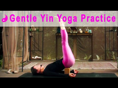 gentle yin yoga full class 2015  youtube