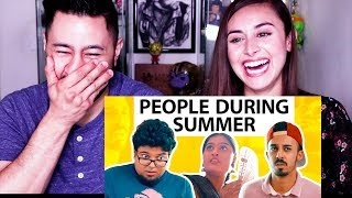 JORDINDIAN | THINGS PEOPLE DO IN SUMMER | Reaction by Jaby Koay!