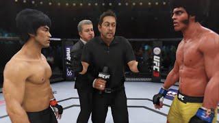 Bruce Lee Vs Jim Williams (Jim Kelly) | ENTER THE OCTAGON!! | EA Sports UFC 3