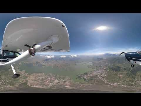 360 flight video Nevado de Toluca