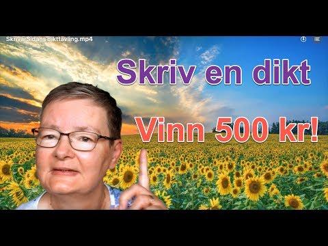 SkrivarSidans dikttävling 2019