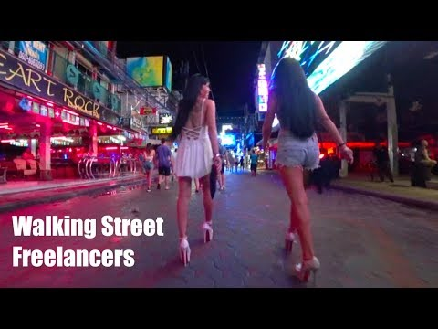 Songkran at Walking Street, Pattaya