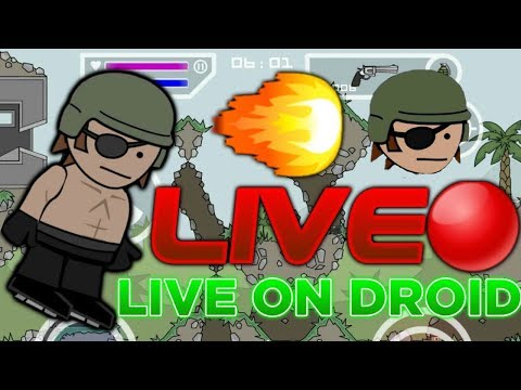 LIVE JUMP! Mini Militia EVERYONE JOIN! Good Luck (Check Description To Join) Sunday Stream😎