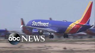 Flight attendant sues Southwest over claims of bathroom camera livestream | ABC News