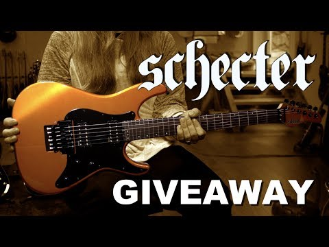 GIVEAWAY!!! Win a Schecter Super Shredder and help Jason Becker