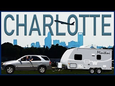 """Exploring Charlotte with fellow YouTuber """"RVing Illustrated"""""""
