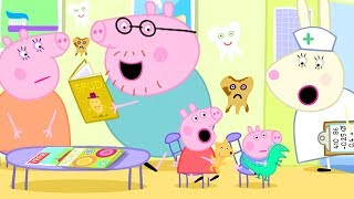 Peppa Pig Channel | Peppa Pig at the Dentist