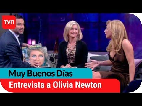 Muy buenos días   La única entrevista de Olivia Newton-John en Chile