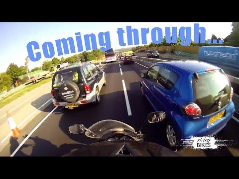 Honda XL 125 V Varadero Brighton to Wimbledon OnBoard Video