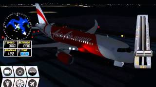 A318 NIGHT TAKE OFF FLIGHT SIMULATOR 2016 HD ANDROID