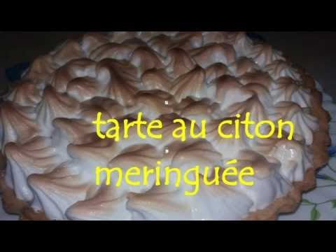 melissa kahina Tarte a la créme au citron تارت الليمون  بطريقة جد بسيطة